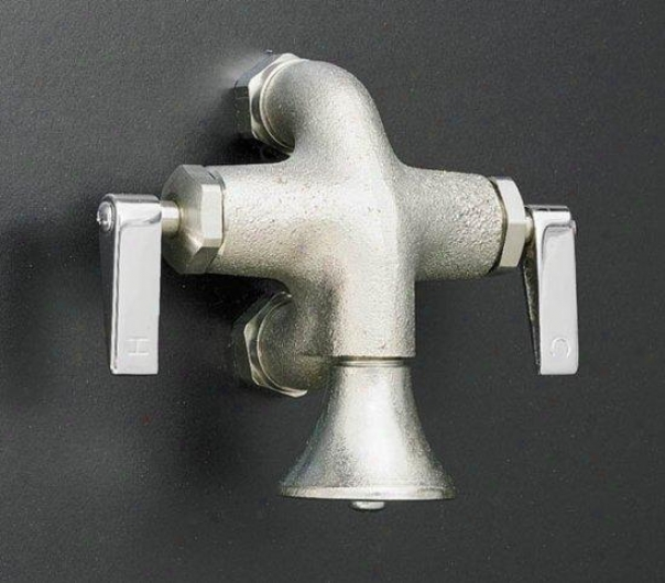 Kohler K-8888-rp Calder Wash Sink Faucet With Lever Handlees, Rough Plated