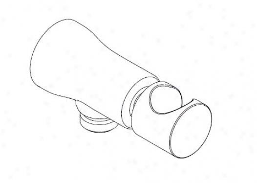 Kohler K-8987-bn Toobi Wall-mount Handshower Holder, Vibrating Brushed Nickel