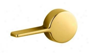 Kohler K-9466-l-pb Cimarron Left-hand Trip Lever, Vibrant Polished Brass