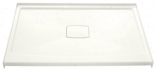 Kohler K-9479-0 Archer Frp Shower Receptor With Removable Cover, 60 X 36, White