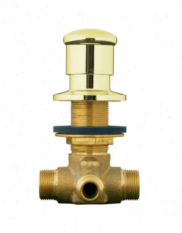 Kohler K-9530-af Deck-mount Two-way Diverter Valve, Vibrant French Gold