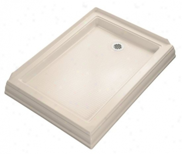 Kohler K-9548-55 Memoirs 48 X 34 Shower Receotor With Right-hnd Drain, Innocent Blush