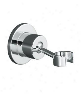 Kohler K-975-cp Stilllness Adjustable Wall-mount Bracket, Polished Chrome