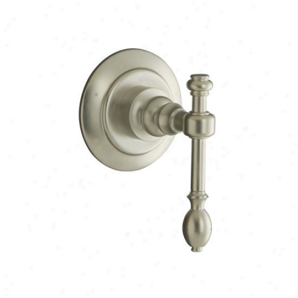 Kohler K-t10682-4-bn Iv Georges Brass Transferring Valve Trim With Lever Haft, Valve Not Included, Vib