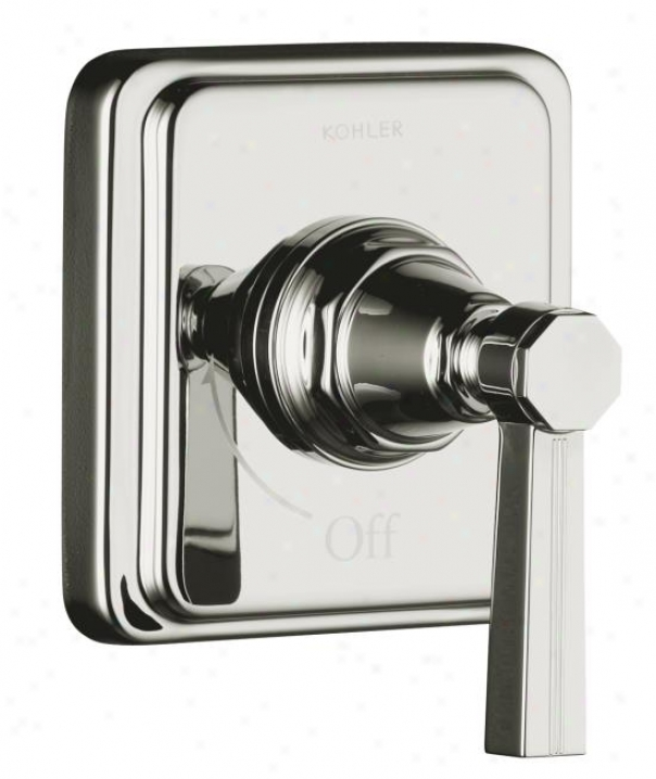 Kohler K-t13174-4b-sn Pinstripe Book Control Trim, Lever Handle, Valve Not Included, Vibrant Polis