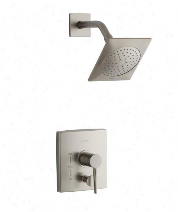 Kohler K-t14777-4-bn Stance Rite-temp Shower Trim, Vibrant Brushed Nickel