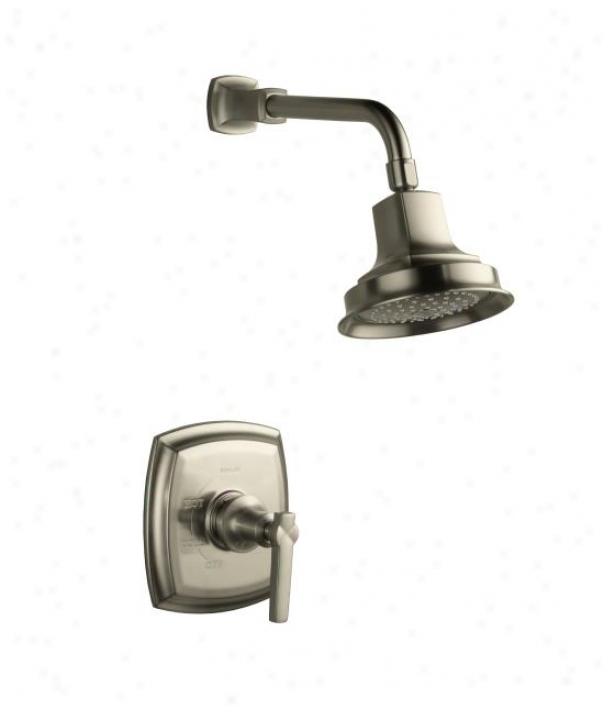 Kohler K-t16234-4-sn Margaux Rite-temp Pressure-balancing Shower Faucet Trim With Lever Handle, Valv