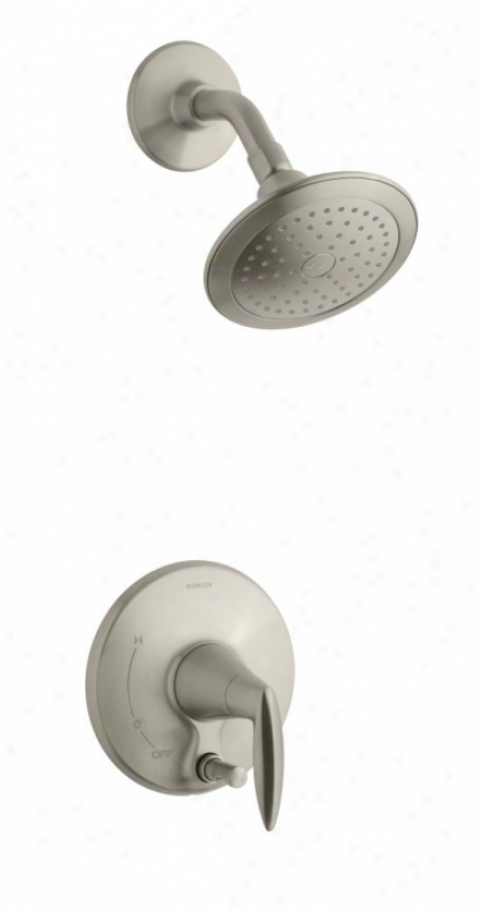 Kohler K-t45108-4-bn Alteo Shower Trim With Push-button Diverter, Valve Not Included, Vibrant Brushe