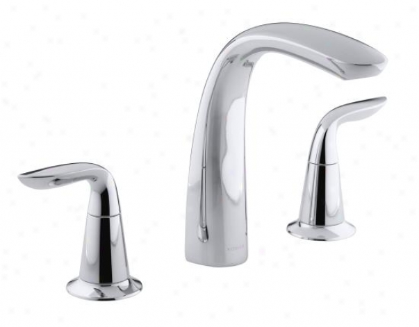 Kohler K-t5324-4-bn Refinia Bath Faucet Trim By the side of Diverter, Valev Not Included, Vibrant Brushed Nick