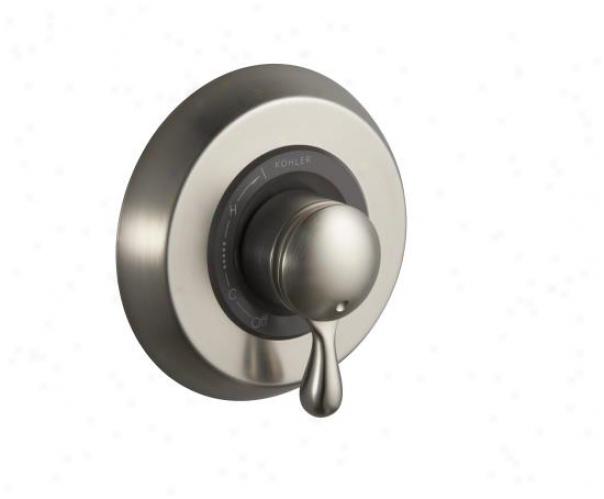 Kohler K-t9492-4-bn Mastershower Rite-temp Valve Trim With Lever Handle, Vibrant Brushed Nickel