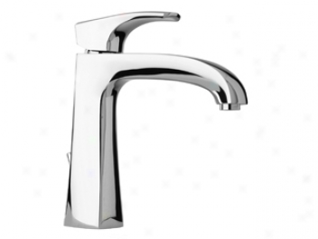 La Toscana By Paini 89pw211 Ladg Single Handle Lavatory Faucet, Brushed Nickel