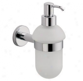 La Toscana By Paini At01dcr Atlanta Soap Dispenser, Chrome