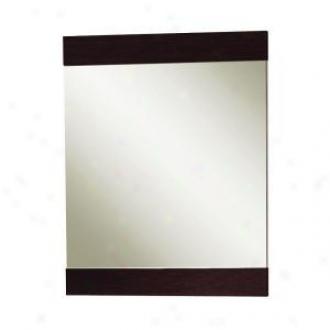 Magickwoods 41674 24'' Mirror, Mahogany