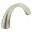 Moen 1747bn Monticello High Arc Roman Tub Spout, Brushed Nickel