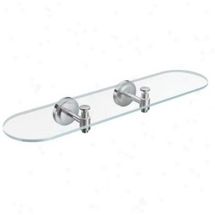 Moen Dn0790ch Iso Glass Shelf, Chrome
