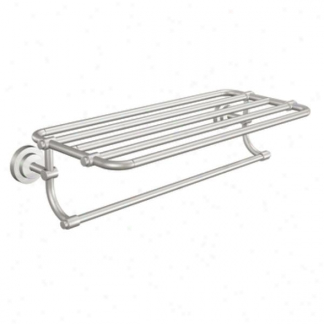 MoenD n0794bn Iso 24 Towel Shelf, Brushed Nickel