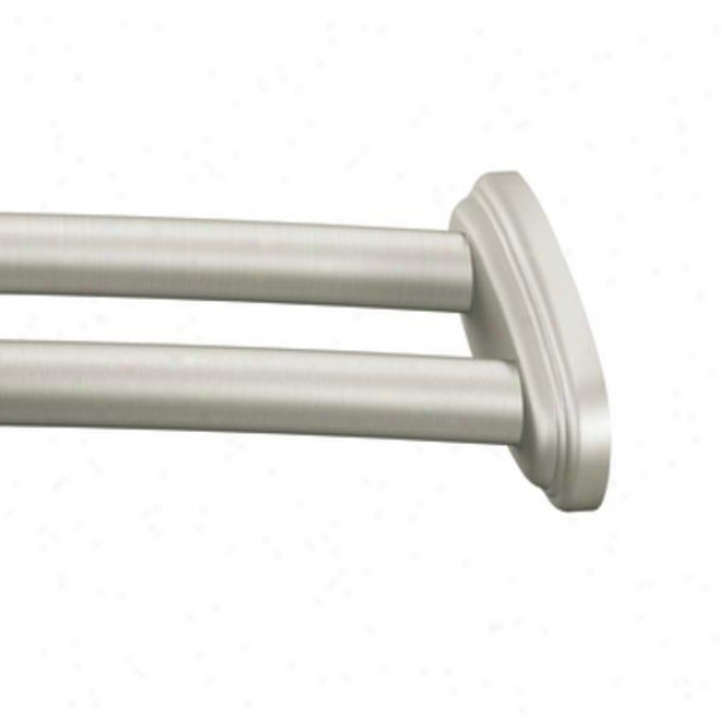 Moen Dn2141bn Curved Shower Rod, Brushed Nickel