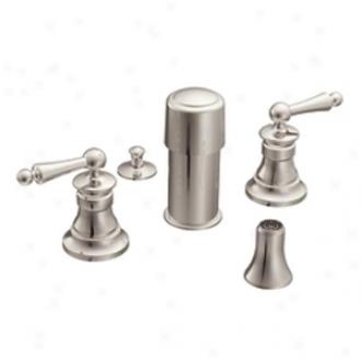 Moen Premium S415onl Waterhill Bidet Faucet, Nickel