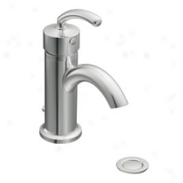 Moen Premium S6500  Icon Single Handle Lavatory Faucet & Drain, Chrome