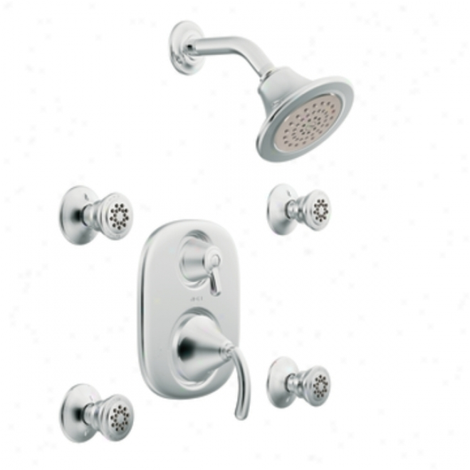 Moen Premium Ts283 Icon Moen Premiumtrol Vertical Spa, Chrome