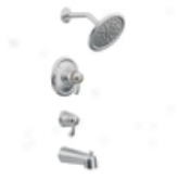 Moen Annual rate  Ts3450 Exacttemp 3/4 Tub & Shower Trim, Chrome