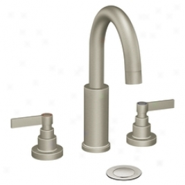 Moen Showhouse S478bn Solace 2 Manage Lavatory Faucet With Drain Assembly, Brushed Nickel