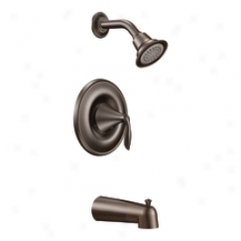 Moen T2133orb Eva Trim Kit For Posi-temp Tub/shower, Oil Rubbed Bronze