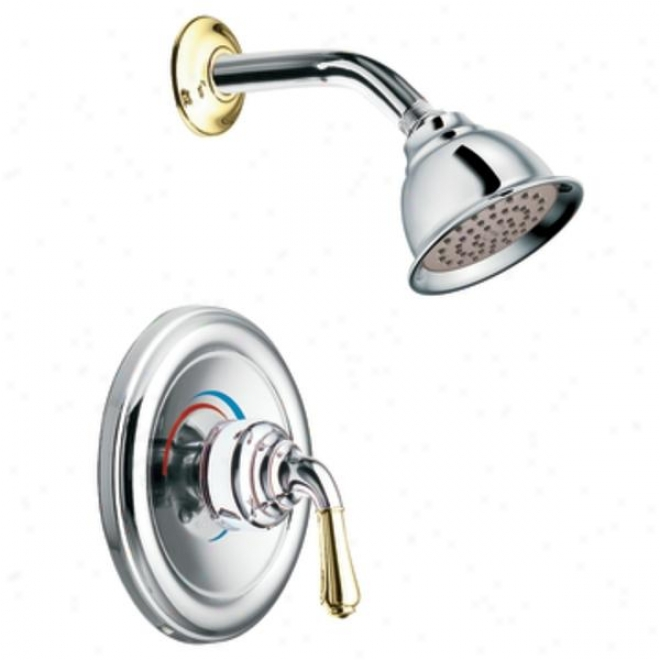 Moen T2444epcp Monticell oPosi-temp Shower Only Trim, Chrome And Polished Assurance