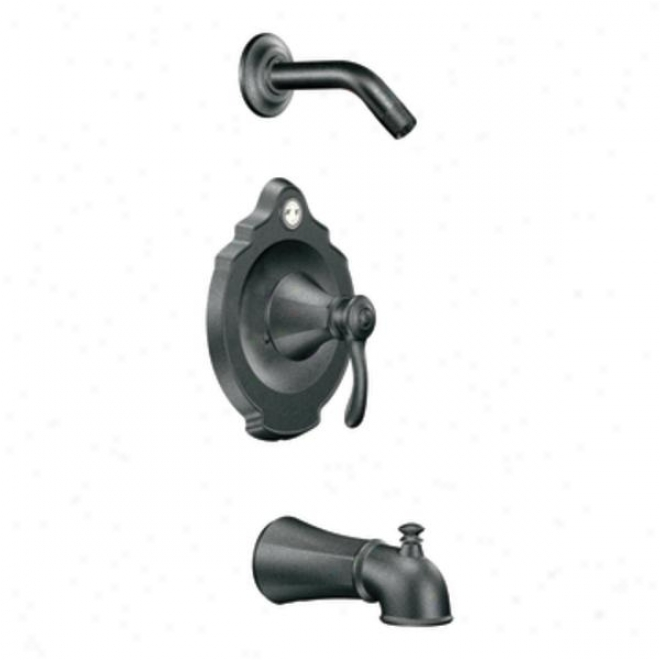Moen T2503nhpw Vestige Posi-tmmp Tub And Shower Trim, Pewter
