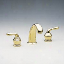 Moen T4572p Monticello Two-handle Lavatory Faucet, Polished Brass