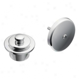 Moen T90331 Tub And Shower Sewer Covers, Chrome
