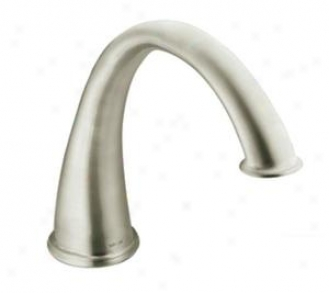 Moen T9211bn Kingsley High Arc Roman Tub Faucet Trim, Brushed Nickel
