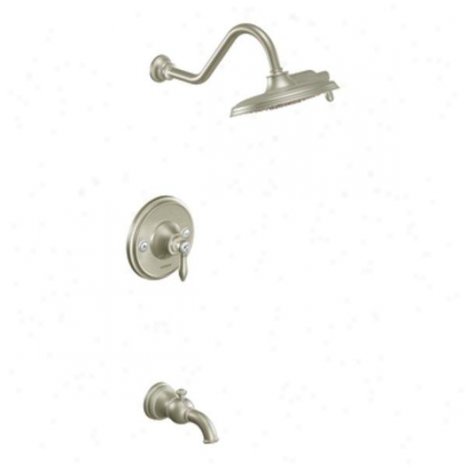 Moen Ts32104epb Weymouth Posi-etmp Tub/shower, Brushed Nickel