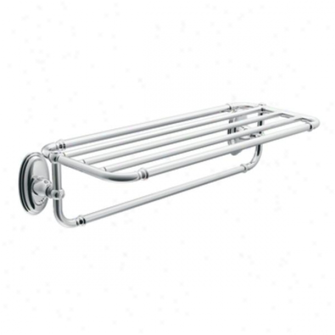 Moen Yb5494ch Kingsley Towel Shelf, Chrome