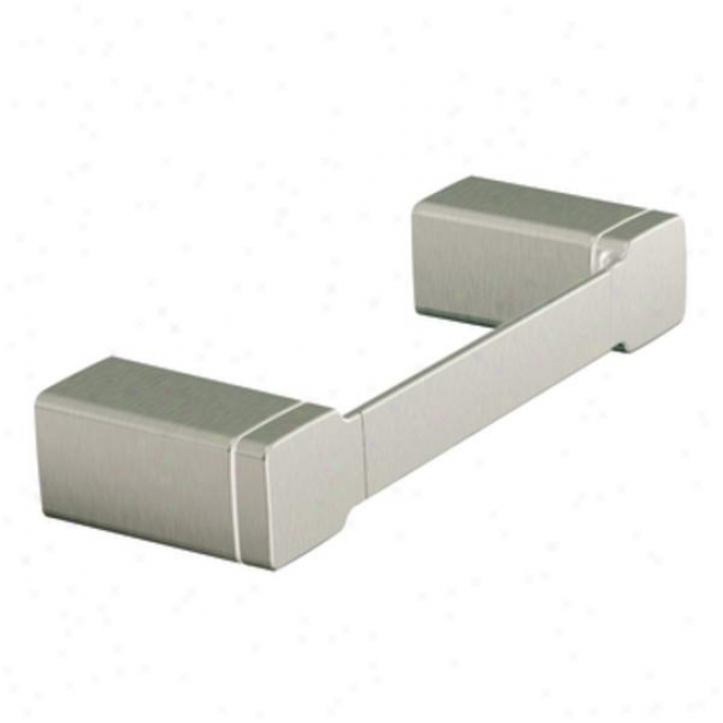 Moen Yb8886bn 90 Degree Towel Ring, Brushed Nickel