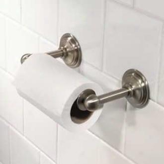 Motiv 2608-26 London Terrace Doubl ePost Toilet Tissue Holder, Polished Chrome