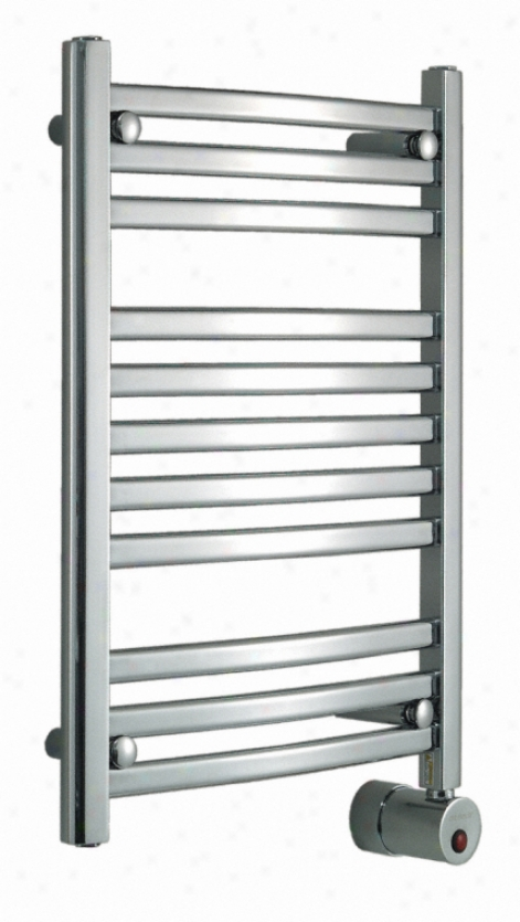 Mr. Steam W228 Pc Wall Mounted Towel Warmer, Polished Chrome