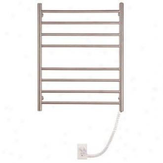 Mysob Wprl08m Pearl 8 Bae Wallmount Electric Towel Warmed,, Matte Stainless Steel