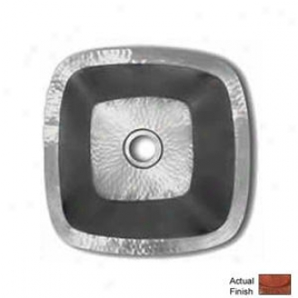 Native Trails Cps147 Small Square Sink. Natural Finish