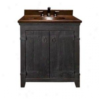 Native Trails Vnb308 Old World Vanity Collection, Black Finish