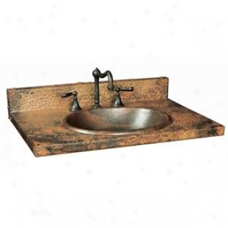 Native Trails Vnt363-r Tuscany Vanity Top, Tempered Finish