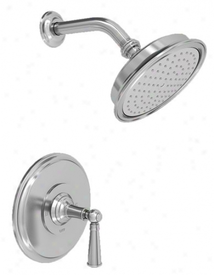 Newport Brass 3-2414bp/26 Aylesbury Single Handle Shower Valve Trim With Showerhead And Lever Deal with