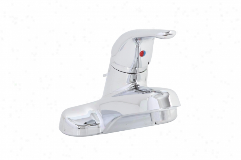 Premier 120159lf Bayview Lezd Free Single-handle Lavatory Faucet With Abs Po-pup, Chrome