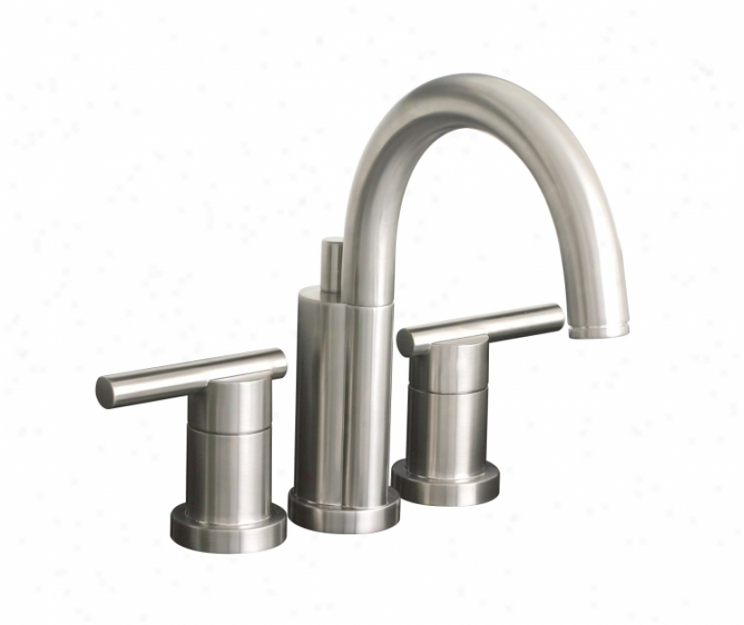 Premier 120332 Essen Mini-widespread Lavatoyr Faucet, Pvd Brushed Nickel