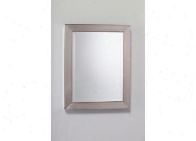 Robern Mt24d4mdbnle Brushed Nickel Framed Cabinet
