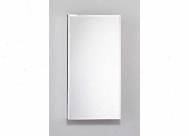 Robern Plm1630bble Pl Series Cabinet 16 W X 30 H X 4 D, Flat Top Bevel Glass Door, Interior Elect
