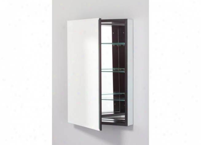 Robern Plm2030bvle Pl Series Cabinet 20 W X 30 H X 4 D, Flat Top Bevel Glass Door, Interior Elect
