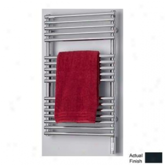 Runtal Neptune Ntreg-3320-5008 Electric Towel Radiator Plug-in 33h X 20w Grey Blue