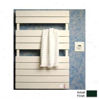 Runtal Omnipanel Tw9d-24-6005 Electric Towel Warmer Direct Wiire 26h X 24w Moss Green