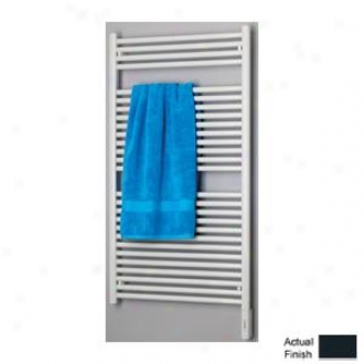 Runtal Radia Rtreg-4624-5008 Electric Towel Radiator Plug-in 46h X 24w Grey Blue